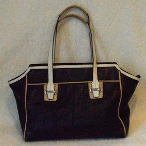 Coach Taylor Blk/White Spectator F 26132 No Tag
